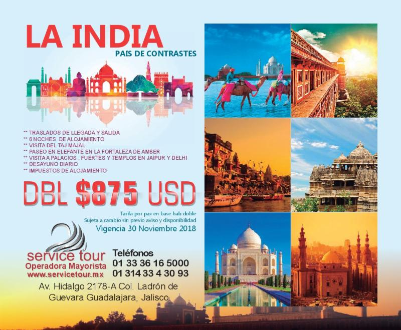promociones internacionales club inntegra India