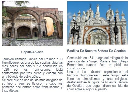 Club Inntegra sitios de interes Tlaxcala