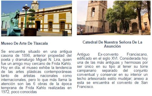 sitios de interes Tlaxcala Club inntegra
