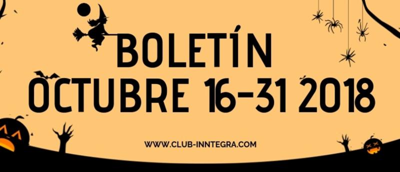 BOLETIN SEGUNDA QUINCENA DE OCTUBRE, PACHUCA