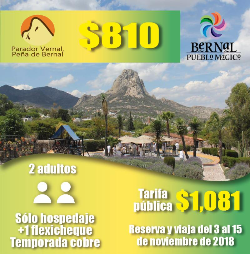 Parador bernal club inntegra