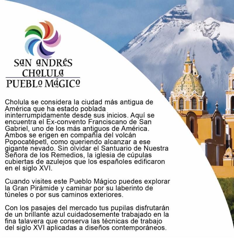 San andres de Cholula Pueblo Magico