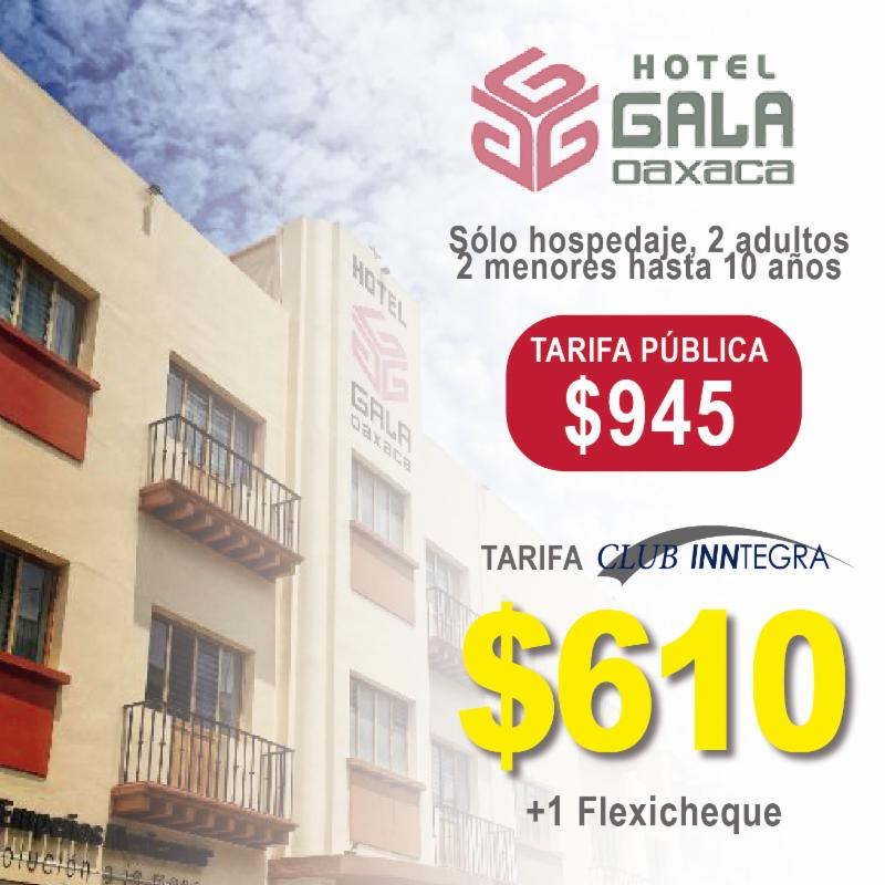 Club Inntegra hotel Gala Oaxaca